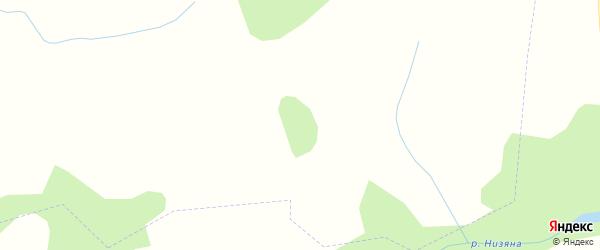 Карта территории сдт Радуги-1 в Кировской области с улицами и номерами домов