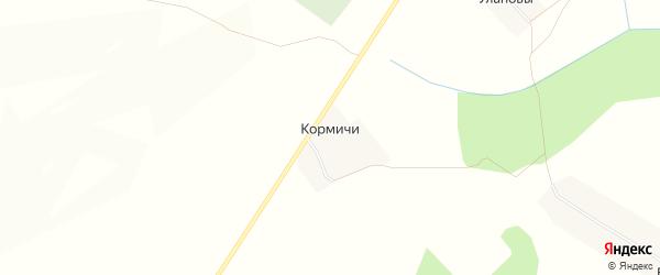 Карта деревни Кормичи в Кировской области с улицами и номерами домов
