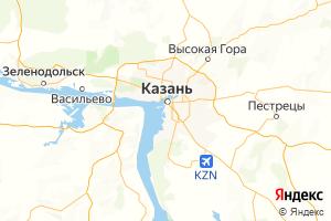 Карта г. Казань Республика Татарстан