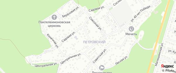Улица Свободы на карте Казани с номерами домов