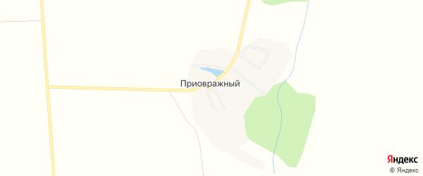 Карта Приовражного поселка в Самарской области с улицами и номерами домов