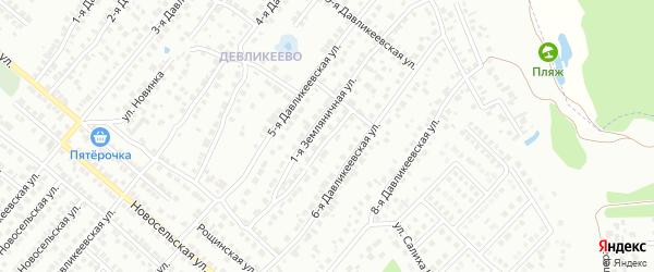 Улица Рахима Саттара на карте Казани с номерами домов