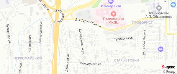 Уржумская улица на карте Казани с номерами домов