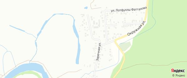 Улица Заречная (Большие Дербышки) на карте Казани с номерами домов