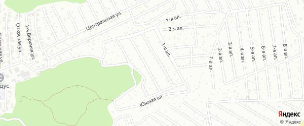 Территория ГСК Строитель на карте Казани с номерами домов