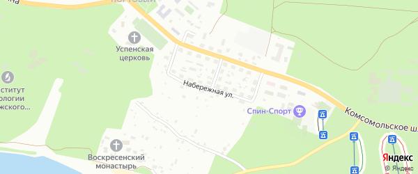 Набережная улица на карте Тольятти с номерами домов