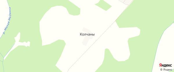 Карта деревни Колчаны в Кировской области с улицами и номерами домов