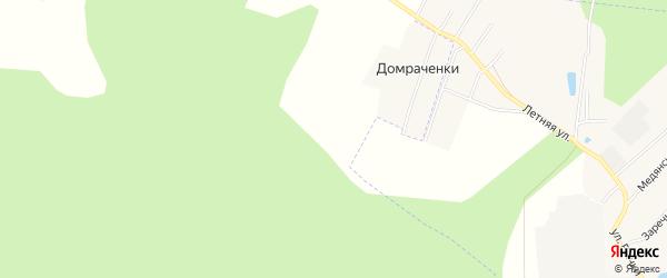 Карта территории сдт Рубин (Медяны) в Кировской области с улицами и номерами домов