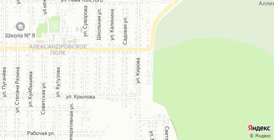 Улица Кирова в Жигулевске с номерами домов на карте. Спутник и схема онлайн