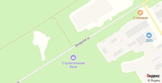 Западное шоссе в Димитровграде с номерами домов на карте. Спутник и схема онлайн