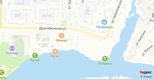Улица Речной Порт в Димитровграде с номерами домов на карте. Спутник и схема онлайн
