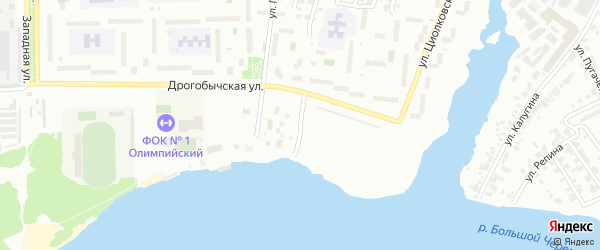 Улица Речной Порт на карте Димитровграда с номерами домов