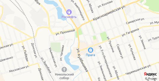 Карта поселка Торфболото в Димитровграде с улицами, домами и почтовыми отделениями со спутника онлайн