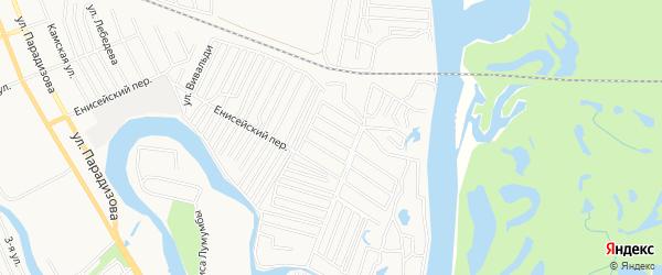 Сад Льнокомбинат-3 (ПО) на карте Димитровграда с номерами домов