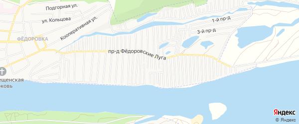 Садовое товарищество СТ Солнечный берег на карте Тольятти с номерами домов