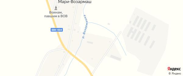 Набережная улица на карте садового некоммерческого товарищества СТ Дружбы Марий Эл с номерами домов