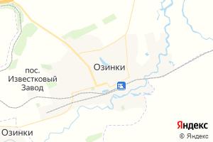 Карта пгт Озинки Саратовская область