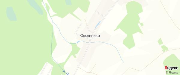 Карта деревни Овсянники в Кировской области с улицами и номерами домов