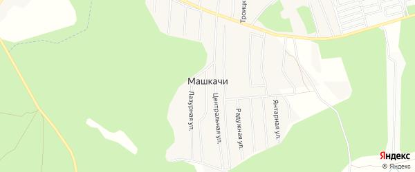 Карта деревни Машкачи в Кировской области с улицами и номерами домов