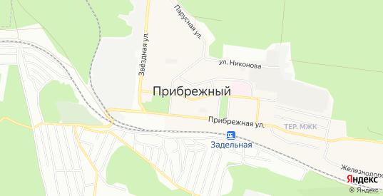 Карта поселка Прибрежный в Самаре с улицами, домами и почтовыми отделениями со спутника онлайн