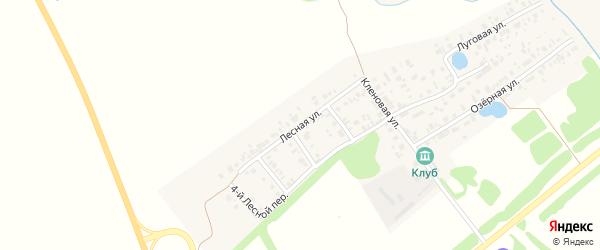 Лесная 5-й переулок на карте Арска с номерами домов