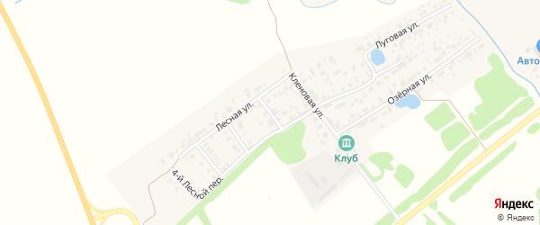 Лесная 1-й переулок на карте Арска с номерами домов