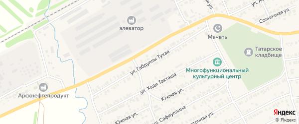 Г.Тукая улица на карте Арска с номерами домов