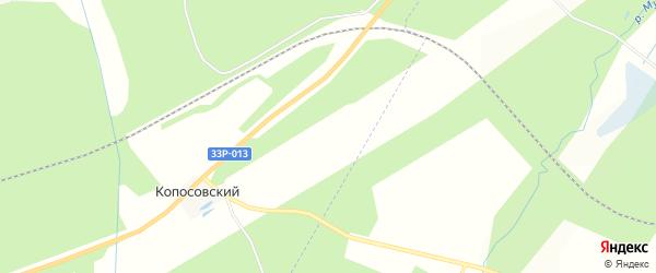 Территория сдт Авангард на карте Кирово-чепецкого района Кировской области с номерами домов