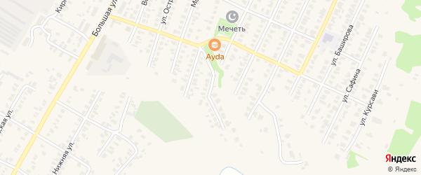 Родниковая улица на карте Арска с номерами домов