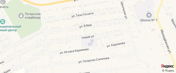 Новая улица на карте Арска с номерами домов