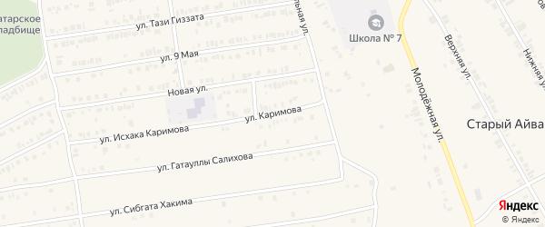Улица Каримова на карте Арска с номерами домов