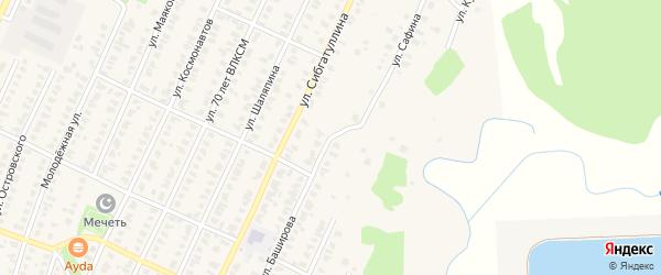 Улица Г.Баширова на карте Арска с номерами домов