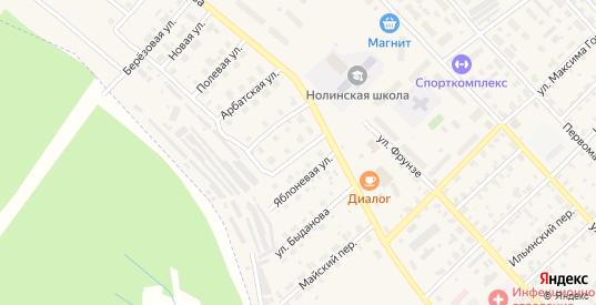 Московская улица в Нолинске с номерами домов на карте. Спутник и схема онлайн