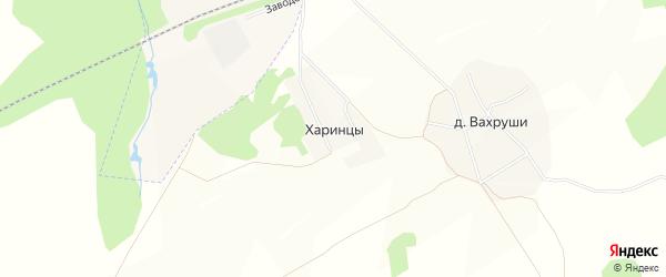 Карта деревни Харинцы в Кировской области с улицами и номерами домов