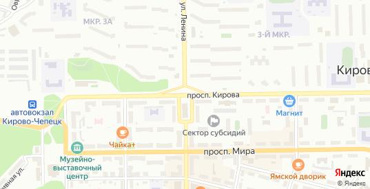 Территория гк н-25/1 в Кирово-Чепецке с номерами домов на карте. Спутник и схема онлайн