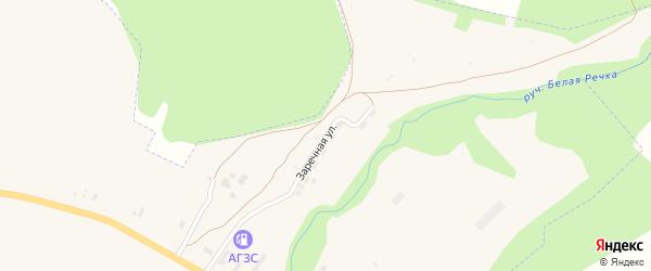 Заречная улица на карте Уржума с номерами домов