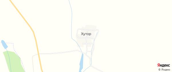 Карта деревни Хутора в Татарстане с улицами и номерами домов