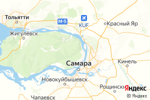 Карта г. Самара Самарская область