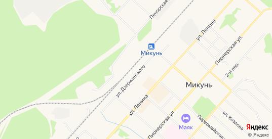 Карта населенного пункта Гудок сдт в Микуне с улицами, домами и почтовыми отделениями со спутника онлайн