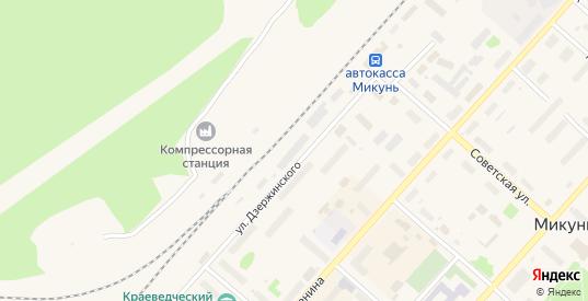 Территория гк Нива в Микуне с номерами домов на карте. Спутник и схема онлайн