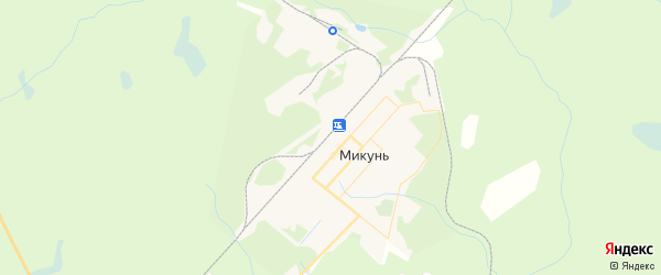 Карта Микуня с районами, улицами и номерами домов: Микунь на карте России
