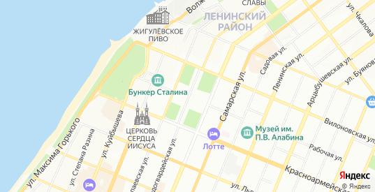 Карта села Рубежное в Самаре с улицами, домами и почтовыми отделениями со спутника онлайн