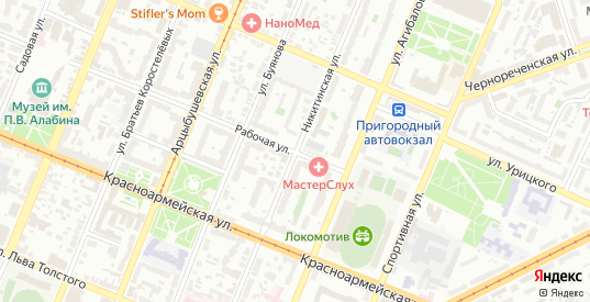 Никитинская улица в Самаре с номерами домов на карте. Спутник и схема онлайн