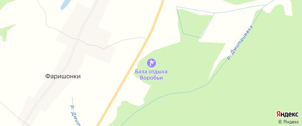 Территория СНТ Боровица на карте Слободской района Кировской области с номерами домов