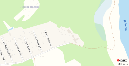 Территория гк з-15 в Кирово-Чепецке с номерами домов на карте. Спутник и схема онлайн