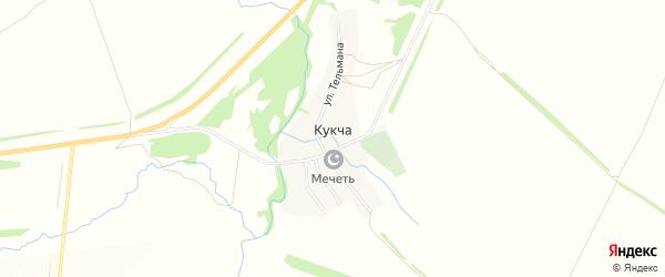 Карта села Кукча в Татарстане с улицами и номерами домов