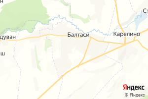 Карта пгт Балтаси Республика Татарстан