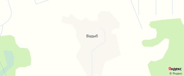 Карта деревни Вадыба в Коми с улицами и номерами домов