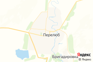 Карта с. Перелюб Саратовская область
