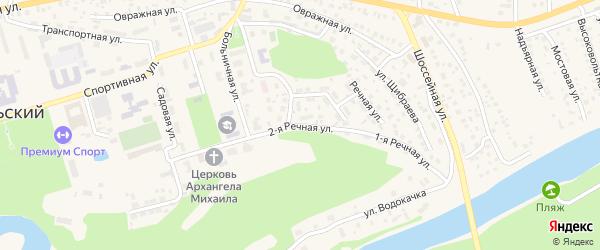 2-я улица на карте территории СХИ-КИС с номерами домов